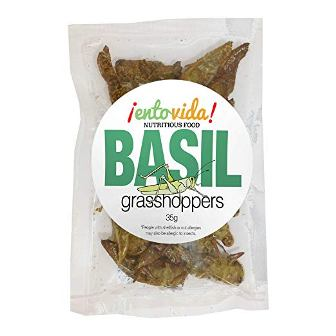 Basil Flavored Grasshoppers