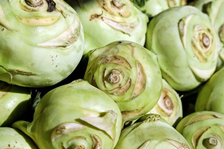 Kohlrabi is cabbage turnip