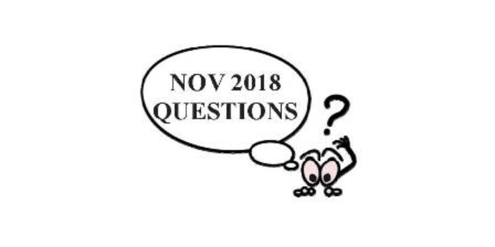 November Quiz
