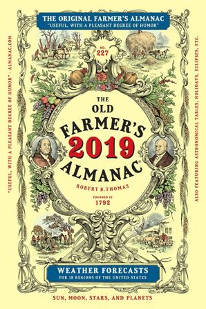 Old Farmer's Almanac 2019, Trade Edition