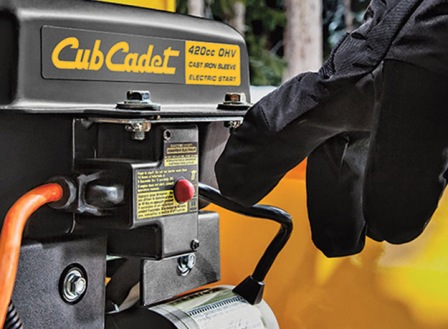 CUB CADET 3X26 push button electric start