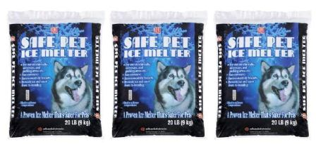 Safe Pet Snow and Ice Melter