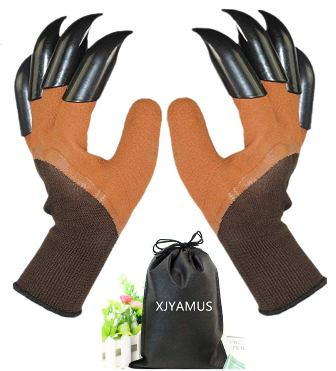 Garden Genie Waterproof Garden Gloves with Claw For Digging and Planting