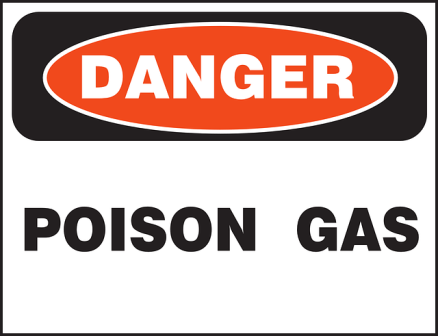 Danger - Generators produce a lot of carbon monoxide gas.