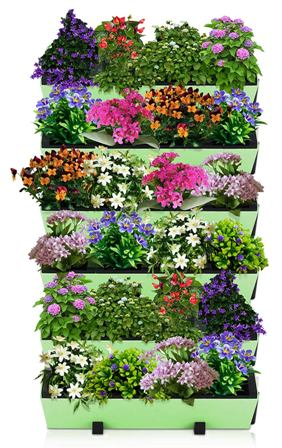 Self Watering Planter for Vertical Gardens
