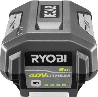 Ryobi 40-Volt Lithium-Ion 5 Ah High Capacity Battery