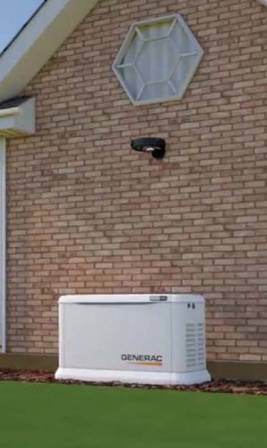 Generac 7043 22kW home installation