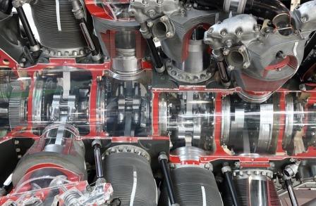 Pratt-Whitney aircraft engine
