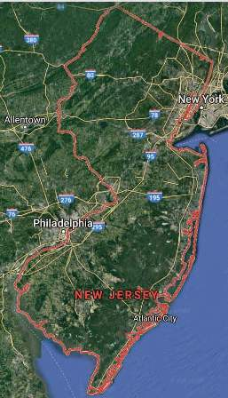 State of New Jersey - soil analysis