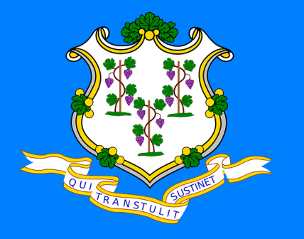 Connecticut state flag.