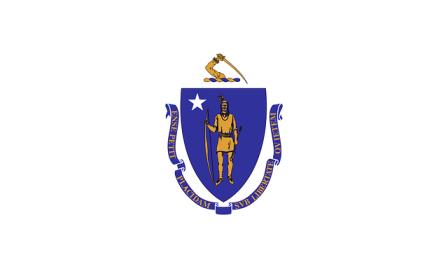 Massachusetts state flag.