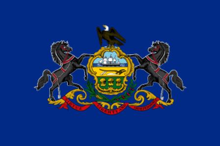 Pennsylvania state flag.