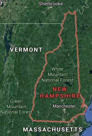 State of New Hampshire - soil analysis