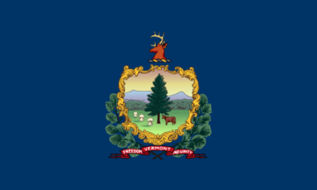 Vermont state flag.