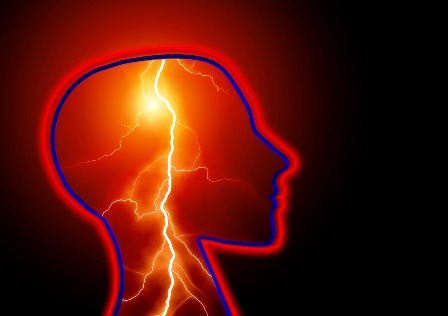A seizure is an electrical storm in the brain.