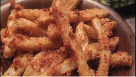 Celeriac fries are just as good as French fries.