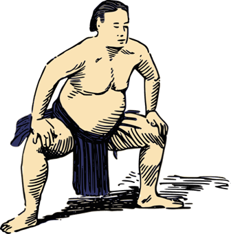 "Is ""fatback"" a Sumo wrestler's backside?"