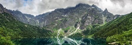 The Rocky Mountain range.