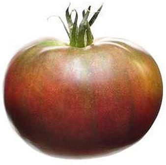 Marde Ross & Company Black Krim tomato seeds.