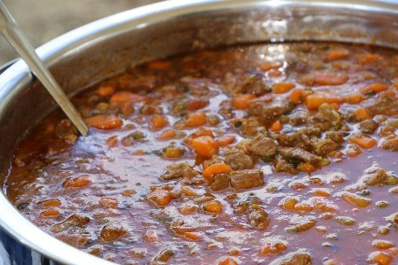 Snert - A Dutch stew.