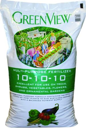 Standard 10-10-10 fertilizer