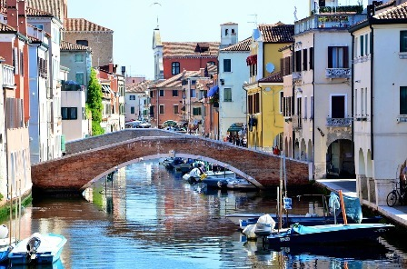 Is Chioggia a seaside town in Italy?