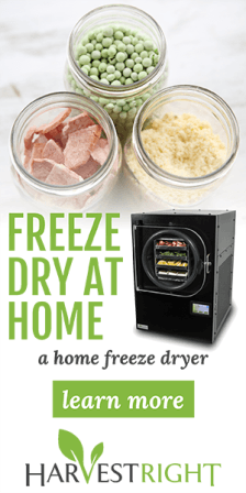 Learn more about Harvest Right Freeze Dryers