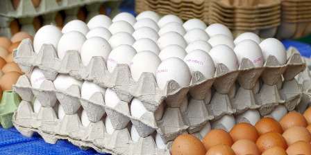 Eggs on sale? Buy a truck load!