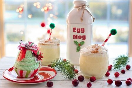 """Egg Nog does not have to be only a """"seasonal favorite."""""""