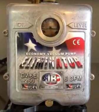 JB Industries Eliminator (6 CFM) Vacuum Pump